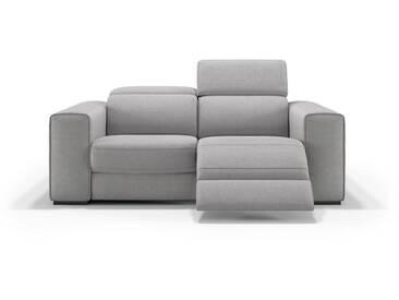 Stoff Couch BOVINO 2-Sitzer Sofa