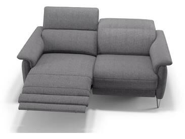 Couch Garnitur BARLETTA 2er Sofa Stoff