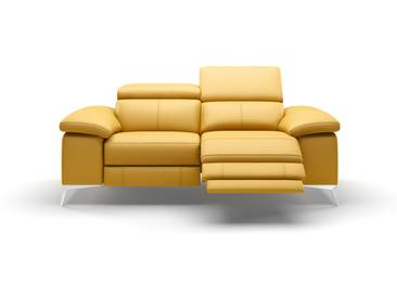 Leder 2-Sitzer Relaxfunktion MILANO Sofa Couch