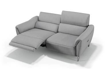 Designer Stoffsofa MALITO Stoffcouch Relaxfunktion