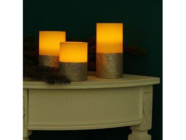 LED-Kerze Gilston (3-teilig)