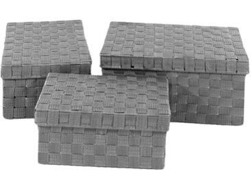 Aufbewahrungsboxen Nanda (3er-Set)