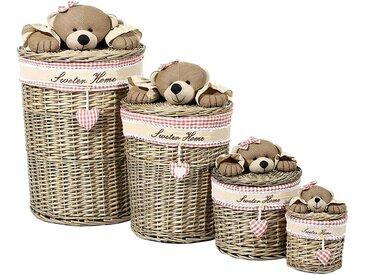 Korb Teddy (4-teilig)