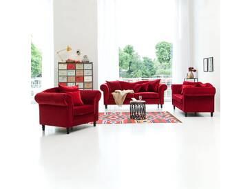 Sofa York (3-Sitzer) Samt