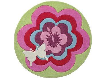 Kinderteppich Fantasy Flower
