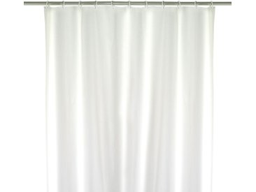 Duschvorhang Uni Weiß