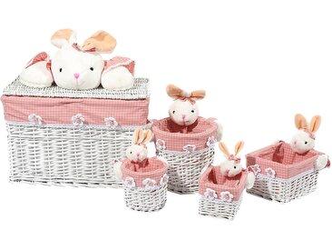 Korb-Set Bunny (5-teilig)