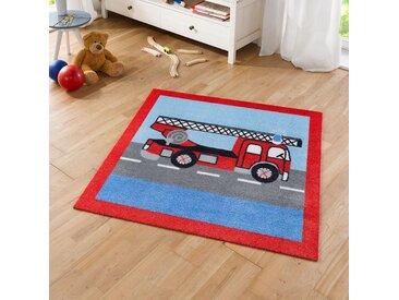 Kinderteppich Feuerwehr