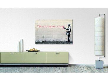 Leinwandbild Banksy No.17