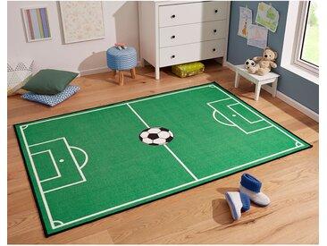 Kinderteppich Fußballfeld