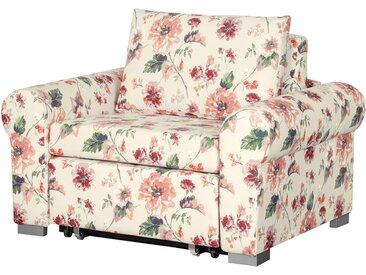 home24 Schlafsessel Latina VIII Beige/Rot 80 x 204 cm