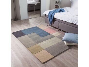 Wollteppich Tiles