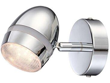 LED-Strahler Manjola Metall Silber