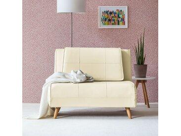 home24 Schlafsessel Rovigo 100 x 182 cm Creme