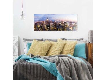 Bild New York Skyline bei Nacht