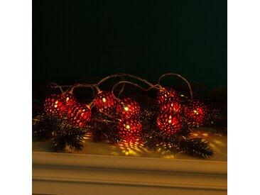LED-Lichterkette Kugeln