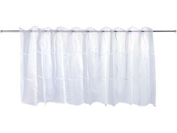 Scheibengardine IDA weiß 150x50 cm