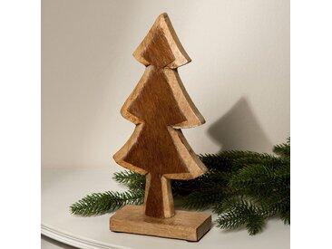 Dekofigur Holztannenbaum