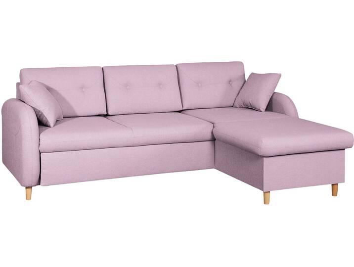Ecksofa Eastville Pink/Rosa