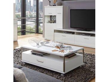 home24 Couchtisch Arco Weiß