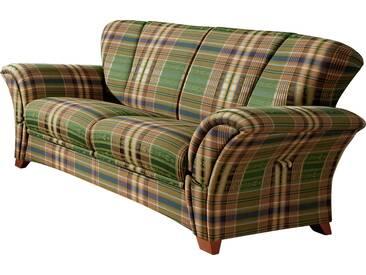 Frommholz® Sofa »Verona«, grün, H: 44cm, hoher Sitzkomfort
