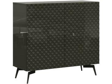 Bruno Banani Sideboard »Design 1«, grau, pflegeleichte Oberfläche, FSC®-zertifiziert