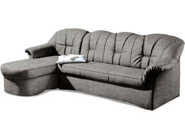 Domo Collection  Eck-Couch mit Schlaffunktion