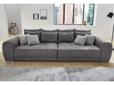 Cnouch Big-Sofa, grau, B/H/T: 306x39x58cm