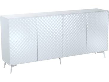 Bruno Banani Sideboard »Design 1«, weiß, pflegeleichte Oberfläche, FSC®-zertifiziert