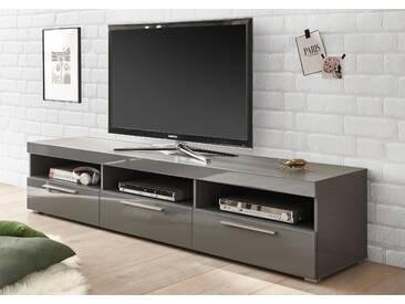 Bruno Banani TV-Lowboard »GOBA«, grau, pflegeleichte Oberfläche