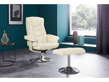 Places Of Style Relax-Sessel »Springfield«, beige, B/H/T: 77x41x47cm, hoher Sitzkomfort