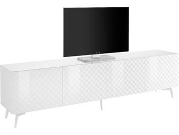 Bruno Banani Lowboard »Design 1«, weiß, pflegeleichte Oberfläche, FSC®-zertifiziert