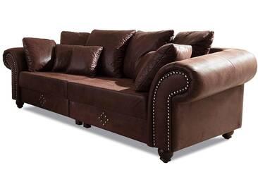Home Affaire  Megasofa  »King George«, B/H: 242x45cm, komfortabler Federkern, FSC®-zertifiziert
