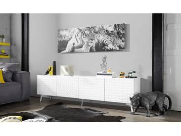 Bruno Banani Lowboard »Design 5«, weiß, pflegeleichte Oberfläche, FSC®-zertifiziert