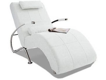 Collection Ab Relaxliege, weiß, H: 36cm, hoher Sitzkomfort