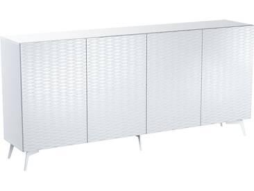 Bruno Banani Sideboard »Design 4«, weiß, pflegeleichte Oberfläche, FSC®-zertifiziert