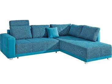 Places Of Style Ecksofa mit Schlaffunktion, grün, komfortabler Federkern, FSC®-zertifiziert
