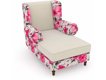 Max Winzer® Sessel »Madeleine«, beige, B/H/T: 100x45x125cm, hoher Sitzkomfort
