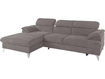Cotta  Eck-Couch  »Caluso«, B/H/T: 254x44x64cm, hoher Sitzkomfort, FSC®-zertifiziert