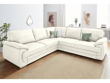 Exxpo - Sofa Fashion Polstergarnitur, weiß, hoher Sitzkomfort
