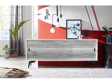 Bruno Banani Sideboard »Tropical«, weiß, FSC®-zertifiziert