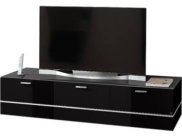 Leonardo Lowboard »CUBE«, schwarz, pflegeleichte Oberfläche