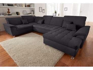 Wohn-Landschaft, grau, hoher Sitzkomfort, FSC®-zertifiziert