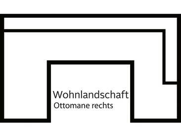 Cnouch Wohnlandschaft ohne Schlaffunktion, schwarz, B/H/T: 340x42x62cm, komfortabler Federkern, hoher Sitzkomfort