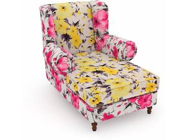 Max Winzer® Sessel »Madeleine«, gelb, B/H/T: 100x45x125cm, hoher Sitzkomfort
