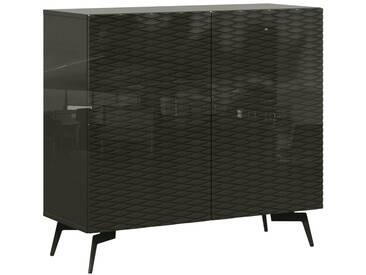 Bruno Banani Sideboard »Design 4«, grau, pflegeleichte Oberfläche, FSC®-zertifiziert