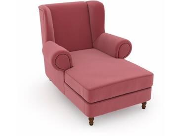 Max Winzer® Sessel »Madeleine«, rosa, B/H/T: 100x45x125cm, hoher Sitzkomfort