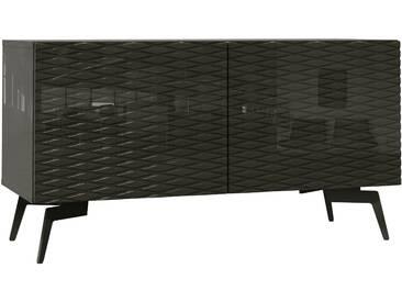 Bruno Banani Lowboard »Design 4«, grau, pflegeleichte Oberfläche, FSC®-zertifiziert