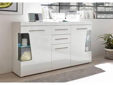 Bruno Banani Sideboard »GOBA«, weiß, pflegeleichte Oberfläche