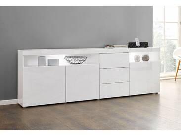 Borchardt Möbel Kommode »Kapstadt«, weiß, pflegeleichte Oberfläche, mit Schubkästen